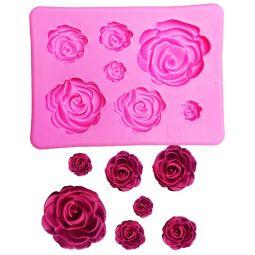 Moule Rose 3D en Silicone
