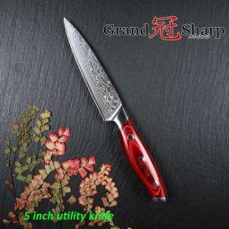 Couteau d'office Damas